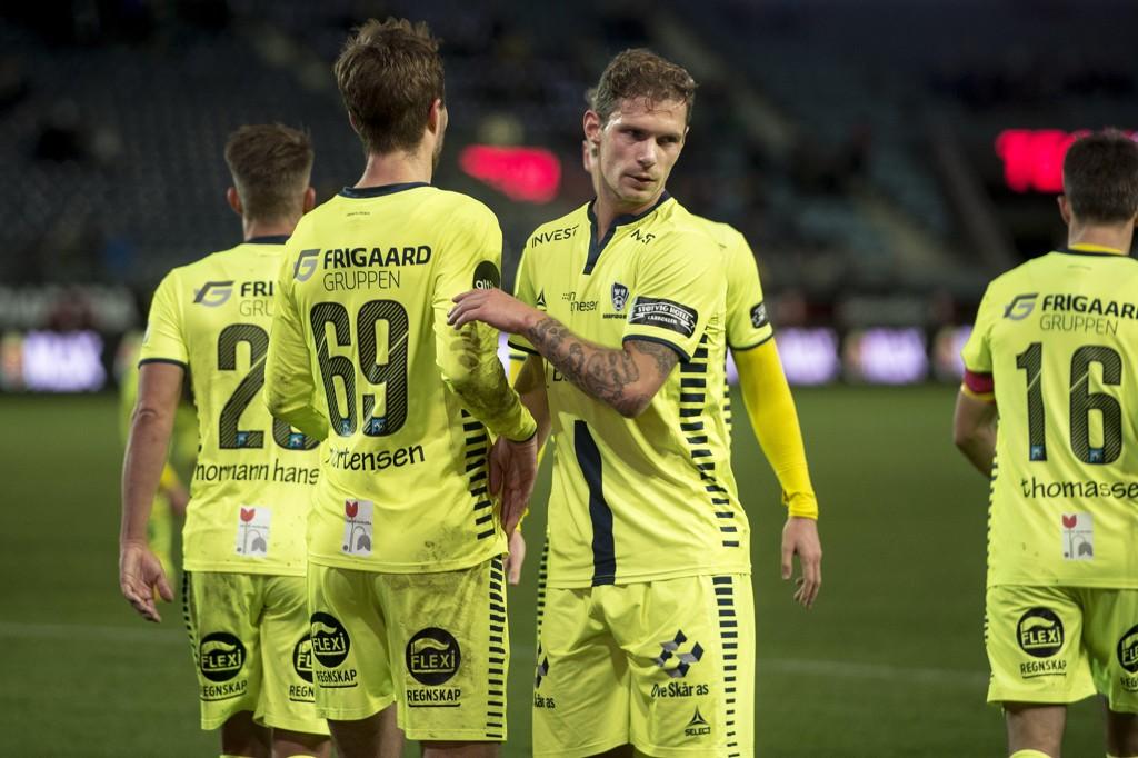 VANT: Sarpsborg slo Dinamo Kiev søndag. Her fra en seriekamp i fjor.
