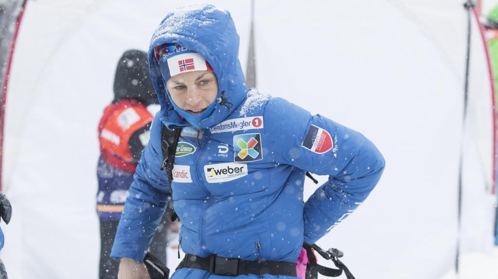KLAR TIL START: Astrid Uhrenholdt Jacobsen har slitt med influensa, men håper å være klar til start på 10-kilometeren hvis hun får sjansen.