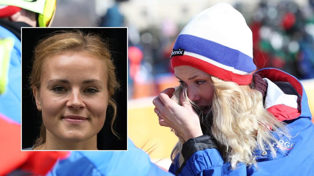 TIL FORSVAR: Eurosports snowboard-ekspert, Helene Olafsen, mener at kvinnenes slopestyle-konkurranse i snowboard aldri skulle vært gjennomført under mandagens værforhold.