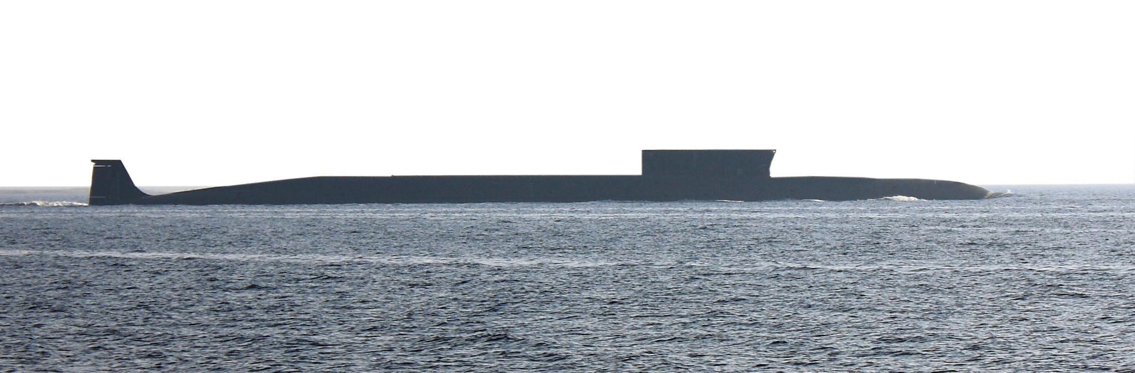 TORPEDOBÆRER: Russlands ubåter i Borei-klassen ble opprinnelig designet for å frakte interkontinentale raketter. Nå er klassen pekt ut som bærere av den nye dommedagstorpedoen «Status-6» skriver Vi Menn.