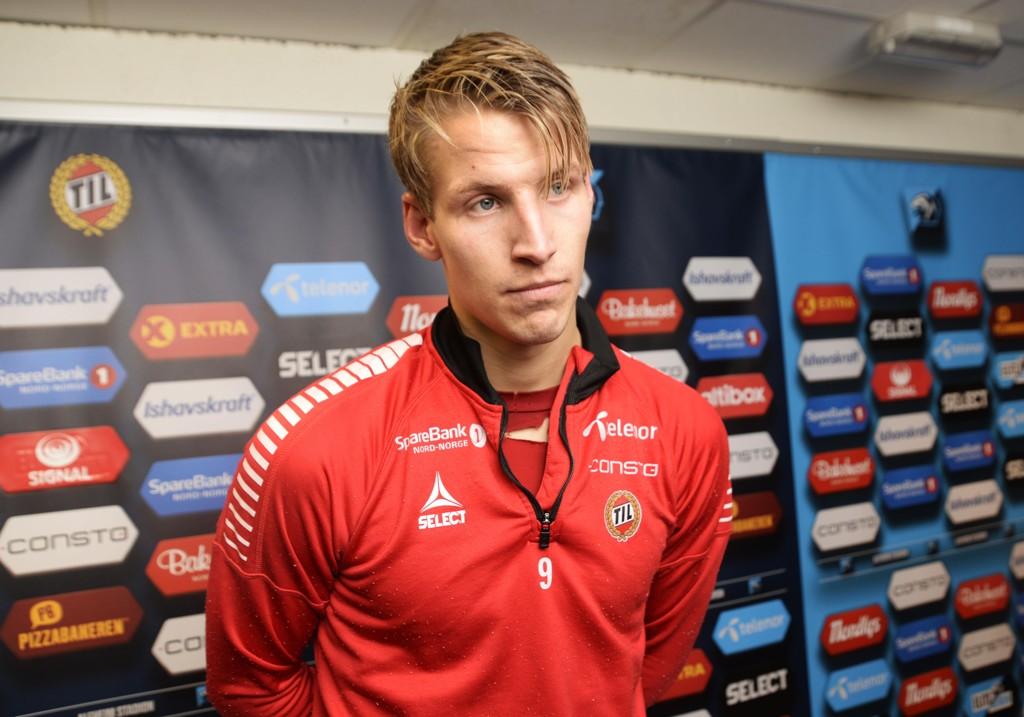 NY KLUBB: Thomas Lehne Olsen er klar for Lillestrøm.