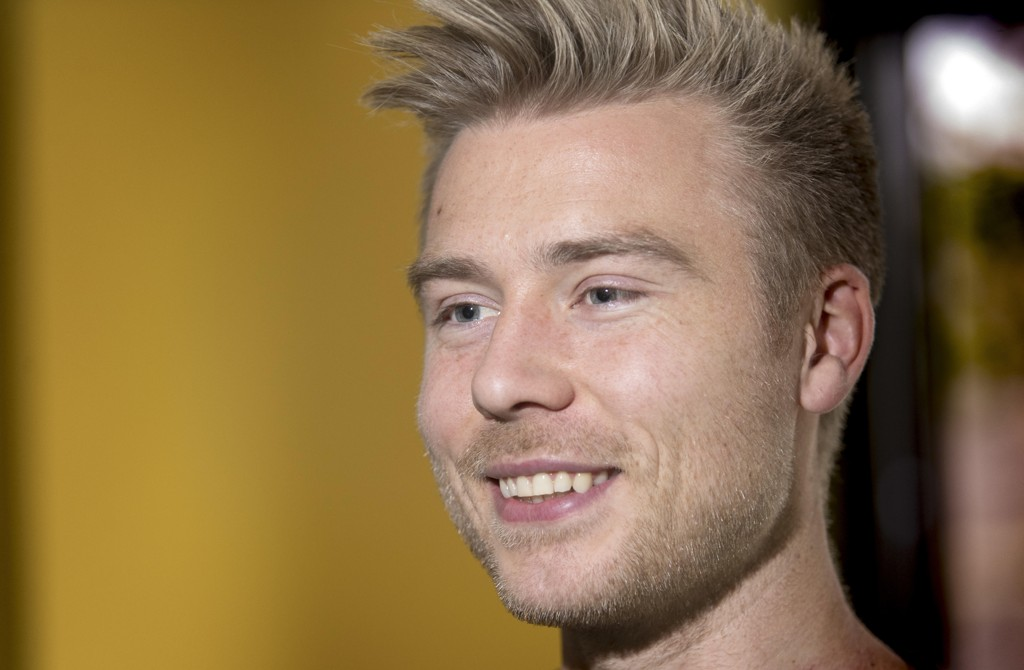 MÅL: Alexander Søderlund har åpnet målkontoen i Rosenborg.
