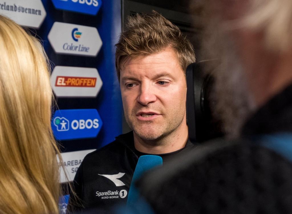 NY KEEPER: Aasmund Bjørkan og Bodø/Glimt henter ny målvakt.