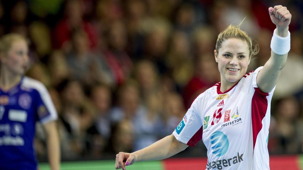 EUROPATRIUMF: Larvik og Thea Mørk møter danske Viborg i EHF-cupens kvartfinale. Vipers fikk fransk motstand i Brest.