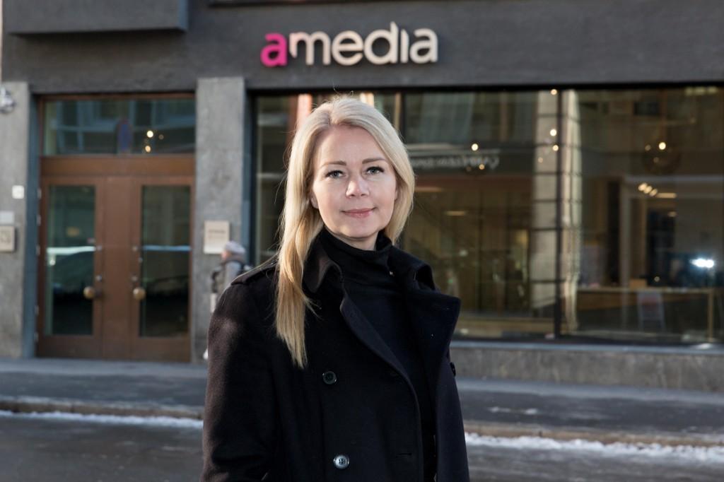 Christine Aannerud har takket ja til å bli salgsdirektør med ansvar for digitale annonser i Amedia-konsernet.