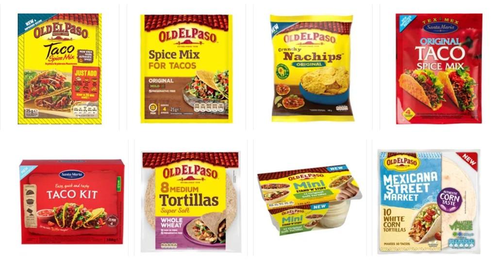 REDUSERES: Prisen på disse taco-produkter kuttes med opp til 41 prosent.