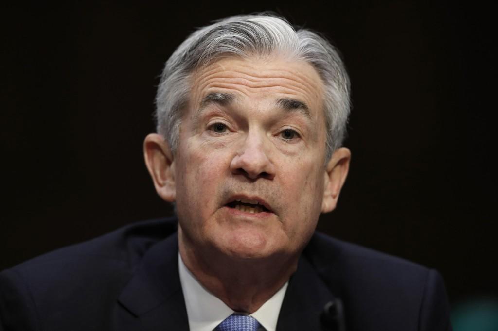 JEROME POWELL ble tirsdag innsatt som ny sentralbanksjef i USA.
