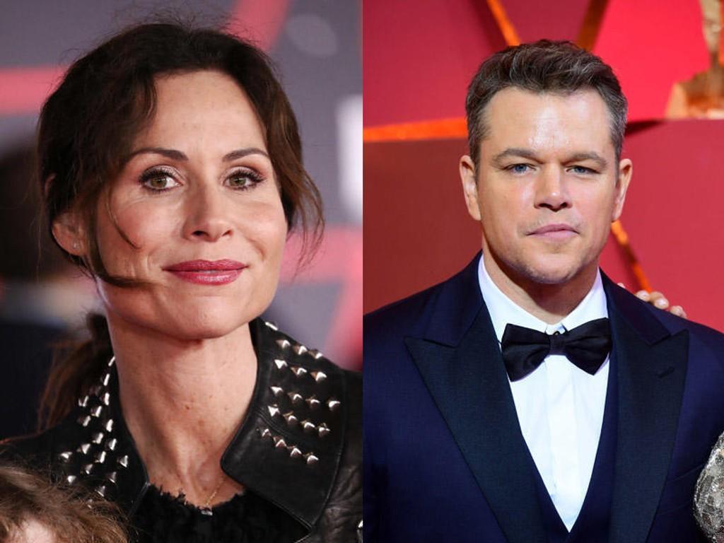 Minnie Driver kaller Matt Damon «tonedøv» og «en del av problemet» etter at han satt fyr på sosiale medier med kommentarene sine om seksuell trakassering forrige uke.