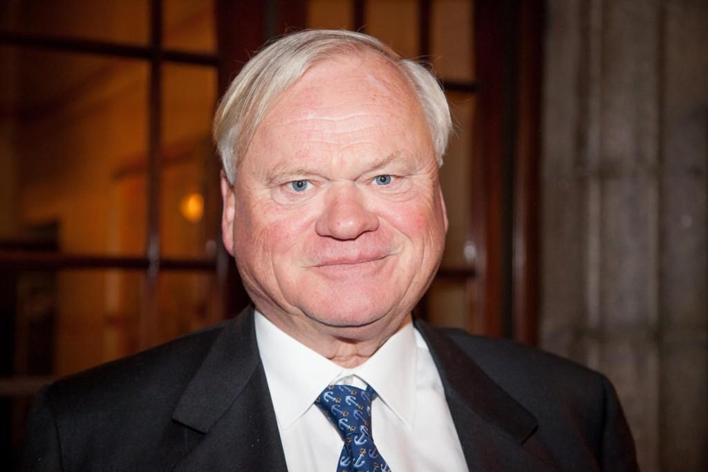 GRUNN TIL Å SMILE: John Fredriksen.