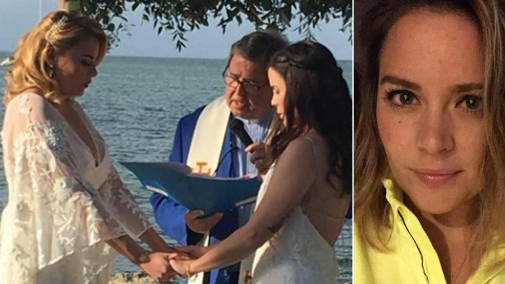SPARKEN: Jocelyn Morffi ble nylig oppsagt fra den katolske skolen hun har jobbet ved i syv år. Saken har fått omtale i en rekke utelandske medier fordi årsaken bak oppsigelsen skal være at hun giftet seg med sin lesbiske kjæreste.