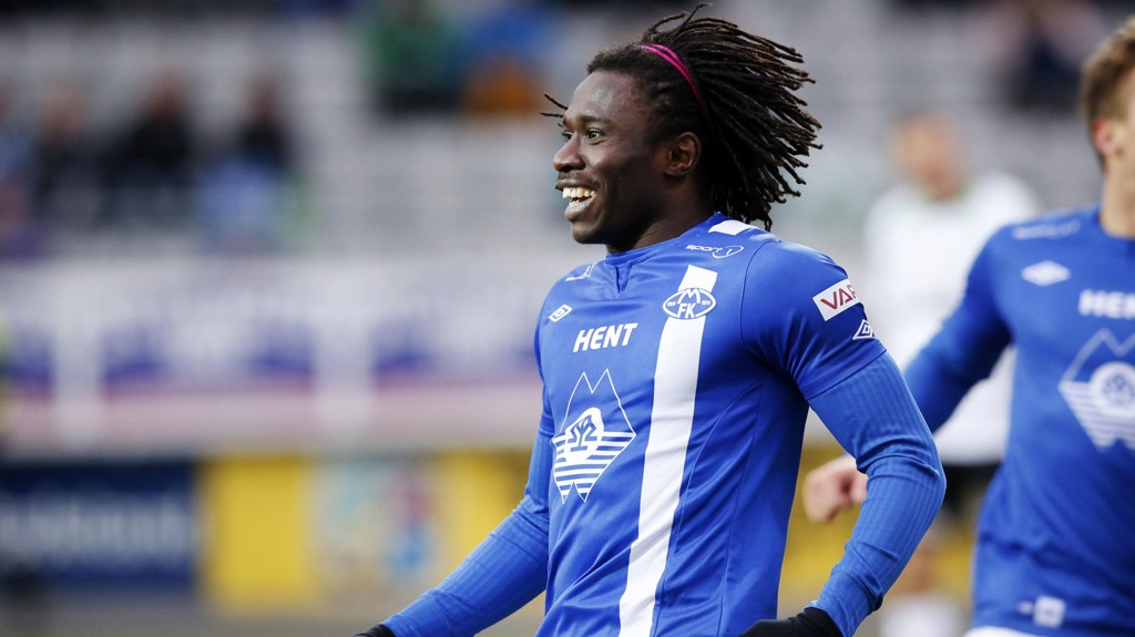 TILBAKE: Daniel Chima Chukwu har signert for Molde.