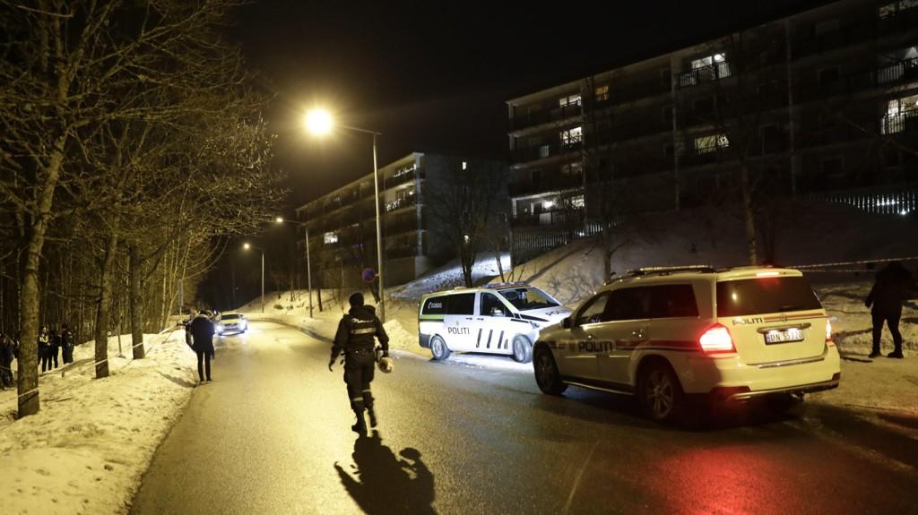 En person ble skutt på Holmlia tidligere i februar.