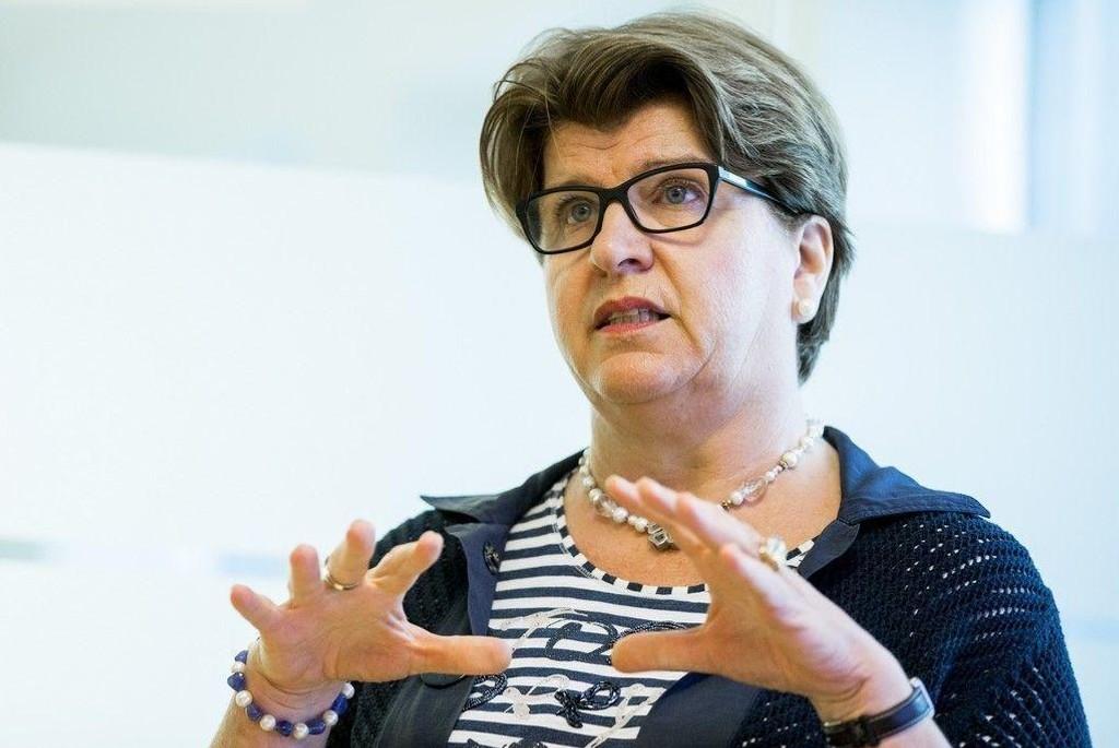 KUTTER KRAV: Direktør for Forbrukerrådet Randi Flesland i Oslo tingrett i forbindelse med gruppesøksmålet Forbrukerrådet reiste mot DNB på vegne av 180.000 fondskunder.