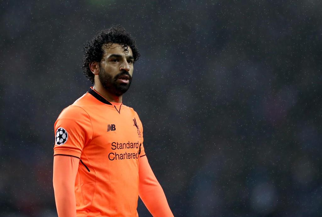 STORFORM: Mohamed Salah er i storform for tiden, og scorer i hytt og vær.