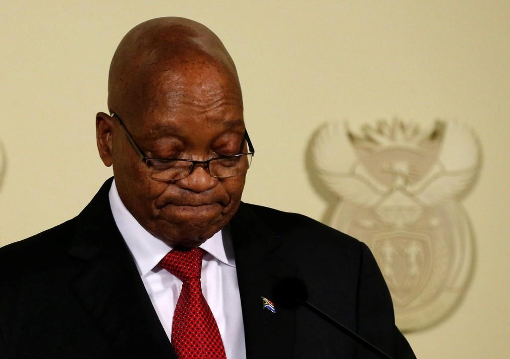 Nå er det over for Sør-Afrikas president Jacob Zuma.