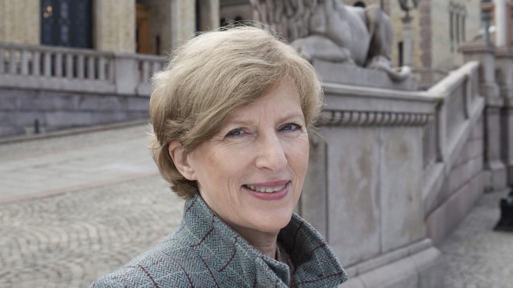 GÅR AV: Ida Børressen.