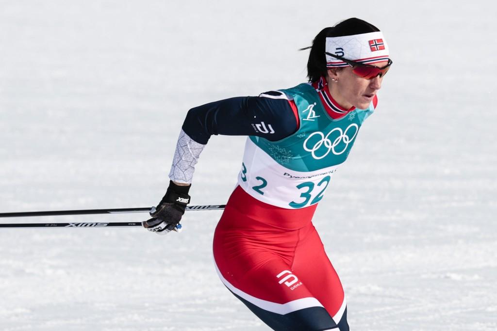 LANGRENNSDRONNING: Marit Bjørgen jakter sitt åttende OL-gull på kvinnenes tremil på søndag.