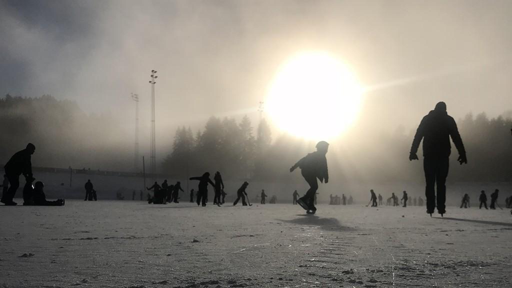 Meteorolog Kristian Gislefoss tror det blir kulderlord i landets nest største by - Bergen. Illustrasjonsfoto.