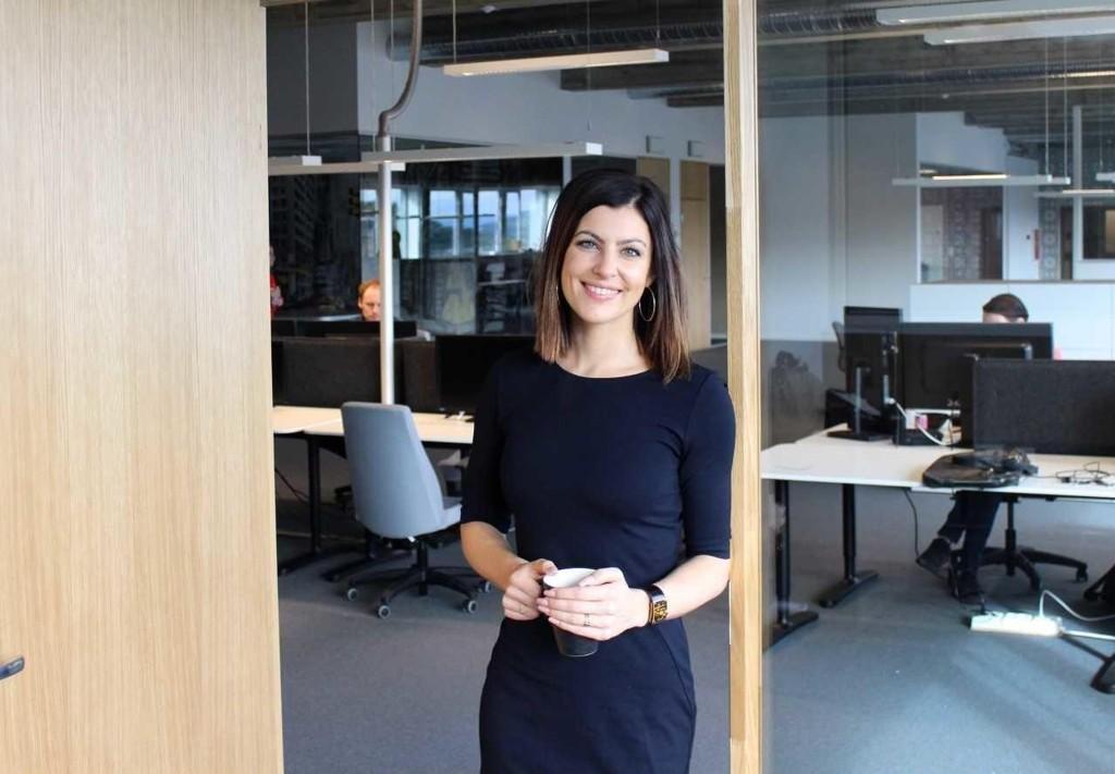 GRÜNDER: Silje Landevåg (33) omsetter for millioner med sin nettbutikk, Get Inspired. Hun ønsker seg flere kvinnelige gründer-kolleger, og mener alt er lagt til rette for det.