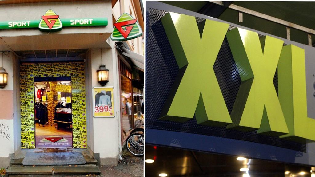 OPP OG NED: G-Sport sliter mens XXL suser forbi.