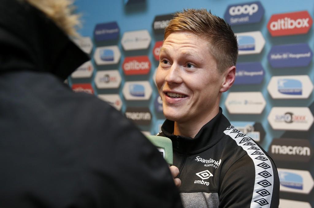 ROSENBORG: Torgil Gjertsen drømmer om å ta på seg Rosenborg-trøya en gang i løpet av karrieren.