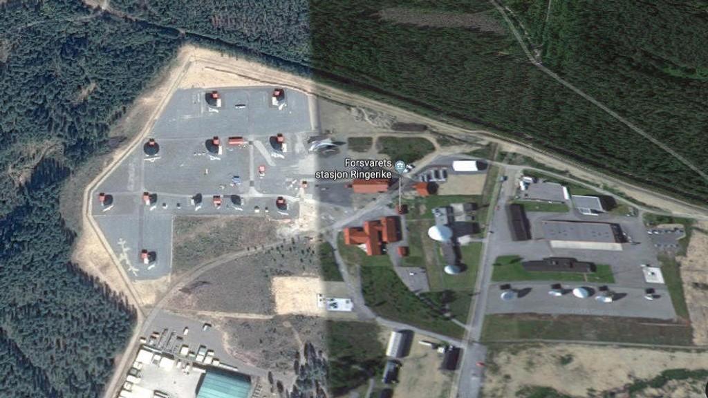 LYTTESTASJON: Forsvarets stasjon Ringerike har fått kallenavnet «Victory Garden» av amerikanske NSA. Hemmelige dokumenter viser at det her blir hentet ned og lagret informasjon om nordmenn.