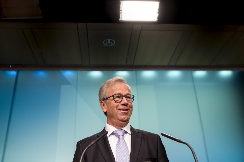 KAN HEVE RENTENE: Sentralbanksjef Øystein Olsen har skaffet seg ryggdekning for å heve rentene tidligere enn planlagt.