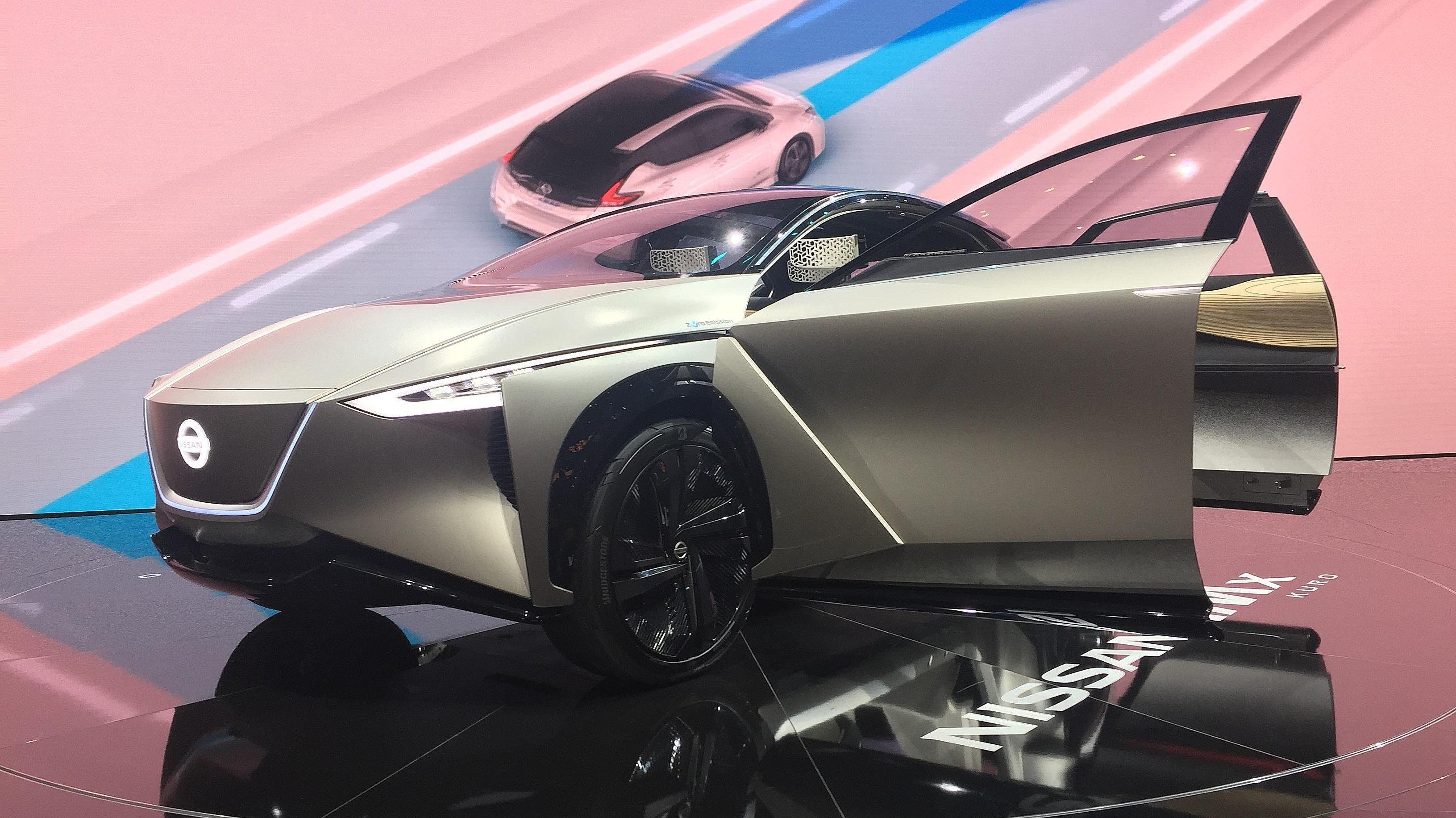 Nissan IMx KURO: Dette Nissan-konseptet er en forsmak på en elektrisk crossover med firehjulstrekk fra Nissan.