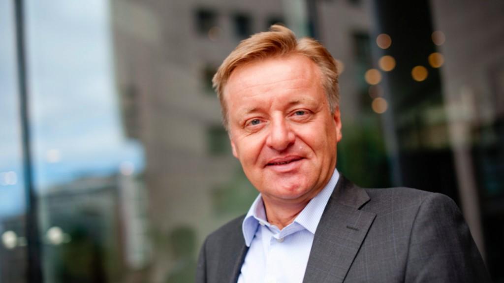 RENTEHEVINGER: Olav T. Løvstad forteller at DNB ser for seg flere rentehevinger fremover.