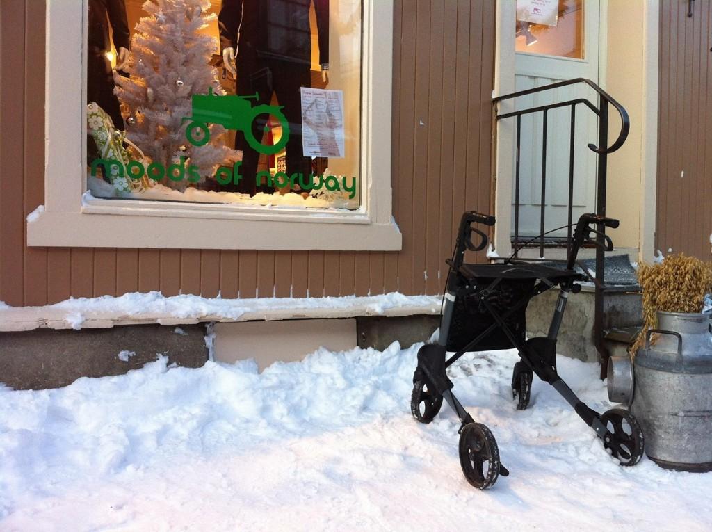 Moods of Norway. Å leve i Norge er et spørsmål om holdning. Du kan gjøre hva du vil. (Foto: Olav Njaastad)