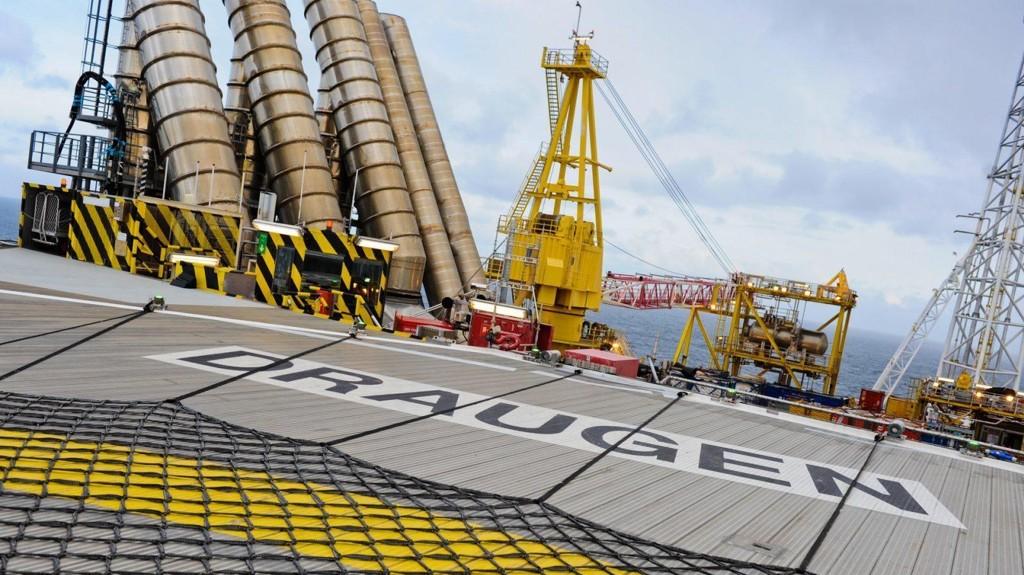Draugen åpnet i 1993 og var det første oljefeltet i drift nord for 62. breddegrad.