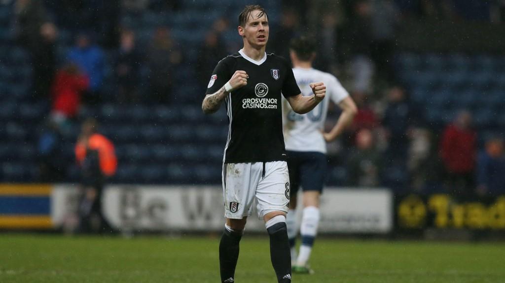 SEIER: Stefan Johansen og Fulham tok alle de tre poengene.