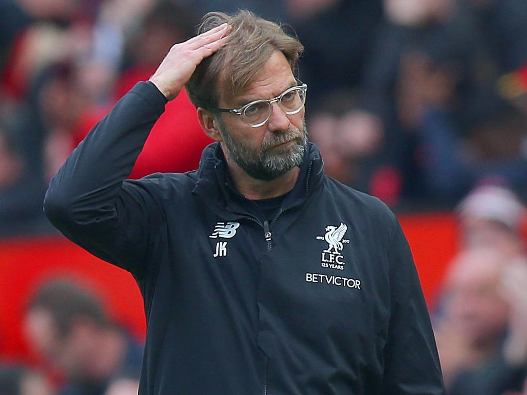 HODEBRY: Liverpool-manager Jürgen Klopp fikk ikke det resultatet han ønsket seg mot Manchester United. Er det tid for mer pengebruk?