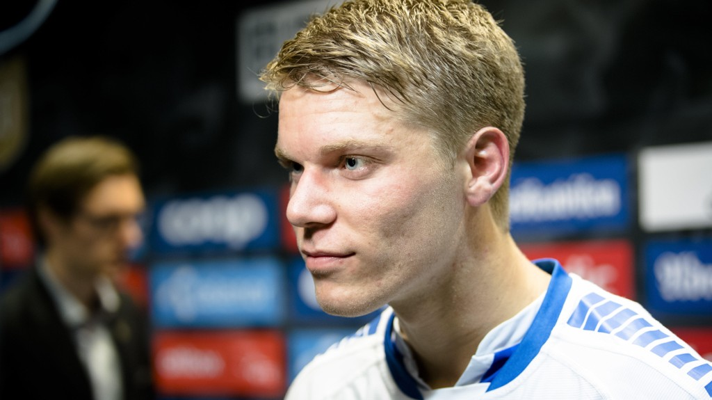 IMPONERER: Sigurd Rosted startet kampen da Gent slo Genk i den øverste divisjonen i Belgia.