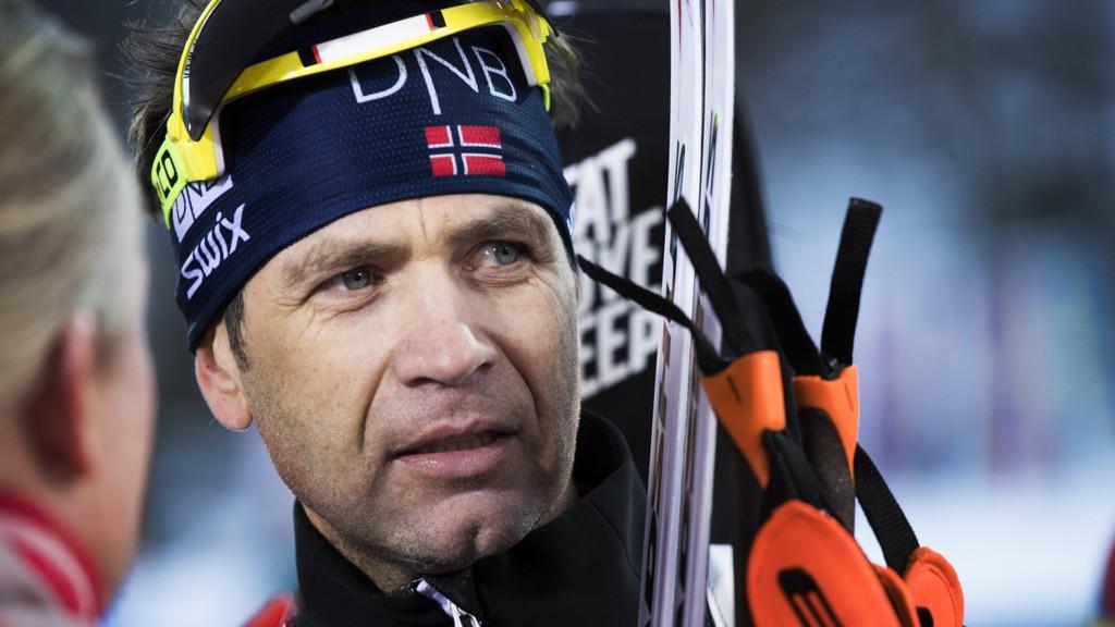 KLAR FOR KOLLEN: Ole Einar Bjørndalen er tatt ut til å gå verdenscup i Holmenkollen.