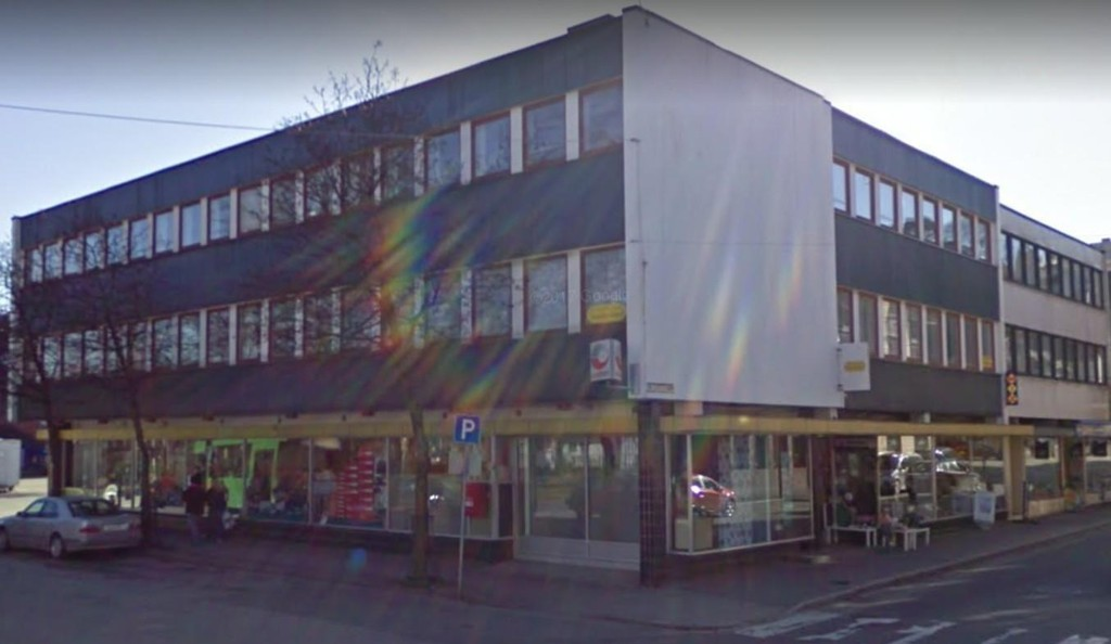 Dalane Tingrett holder til i dette bygget i sentrum av Egersund.