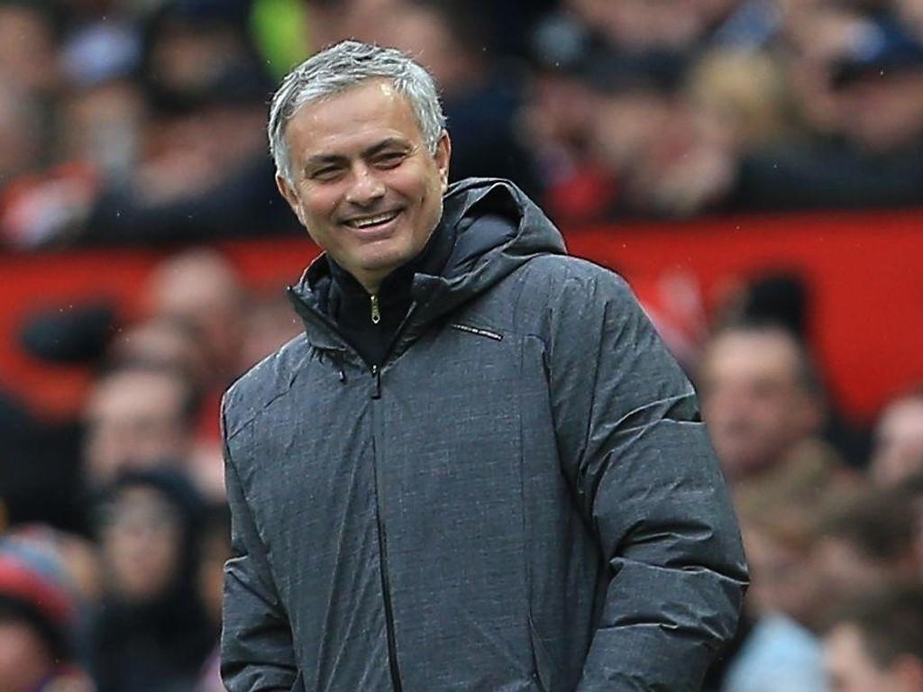 GRUNN TIL Å SMILE: Manchester United spiller sin beste fotball for sesongen og har et bra utgangspunkt for returmøtet med Sevilla.