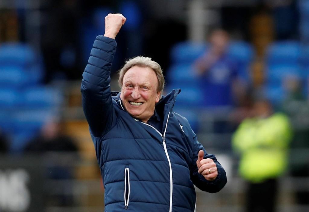 GRUNN TIL Å JUBLE: Neil Warnocks Cardiff-lag er i eventyrlig form om dagen.