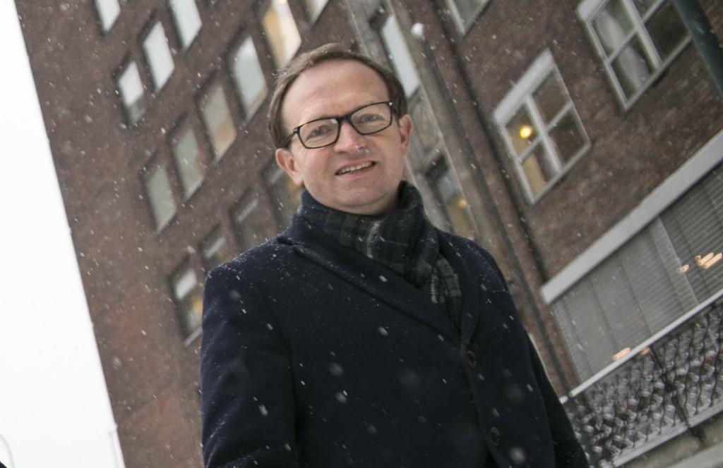 Administrerende direktør i Forvaltningshuset, Michael V. Sivertsen.