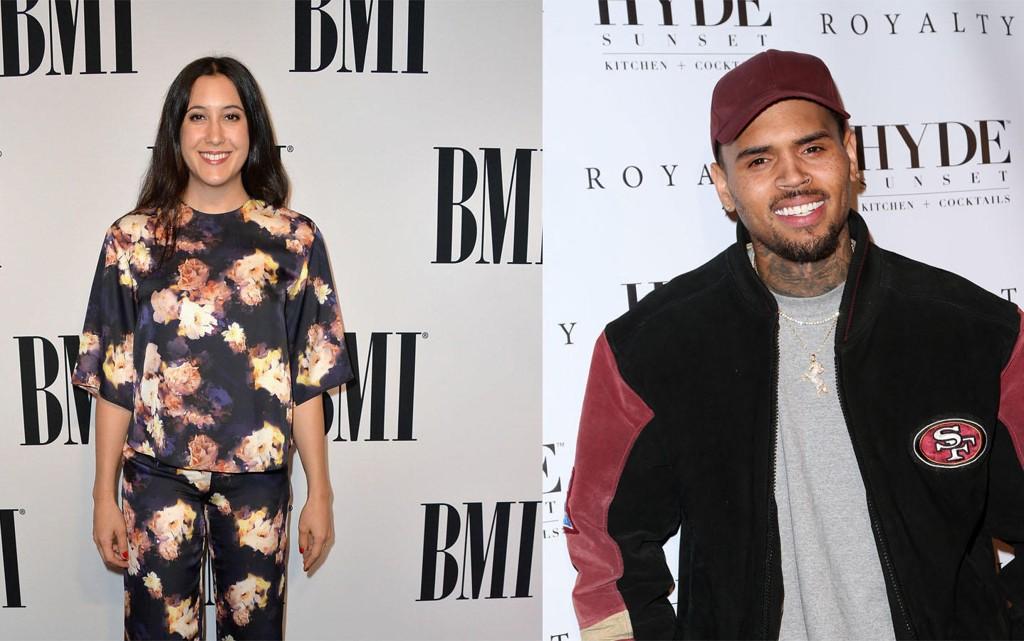 Sanger Vanessa Carlton er ikke begeistret for sanger (og sertifisert bråkmaker) Chris Brown.