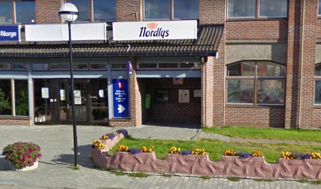FORSØKT RANET: Minibanken på Storslett er forsøkt ranet. En person er pågrepet og mistenkt.