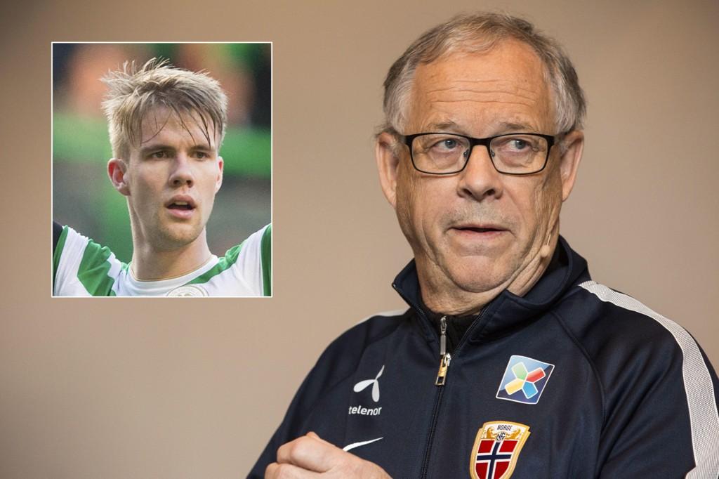 HAR IMPONERT: Lars Lagerbäck har latt seg imponere av 19-åringen Kristoffer Ajer.