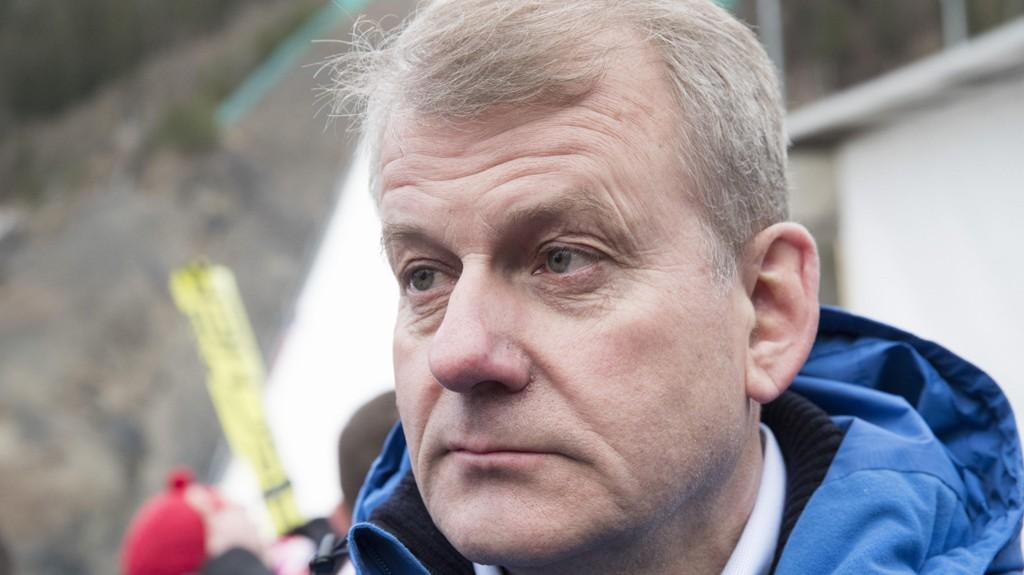 SKIPRESIDENT: Erik Røste er betenkt etter at fyllekaoset i Holmenkollen sist helg.