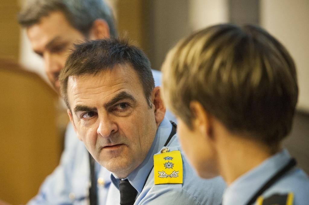 PENISBILDER: – Å sende «dickpics» uoppfordret er etter loven det samme som å hoppe ut av busken og blotte seg, sier politioverbetjent Bjørn-Erik Ludvigsen. Bildet er fra 2013.
