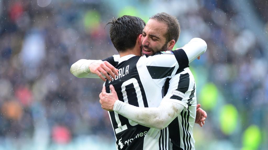 Paulo Dybala og Gonzalo Higuain har begge levert solid for Juventus den siste tiden.