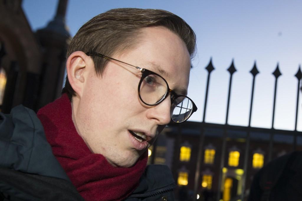 FÅR KRITIKK: Tidligere Unge Høyre-leder Kristian Tonning Riise får kritikk etter Høyres behandling av varslingsakene mot ham.