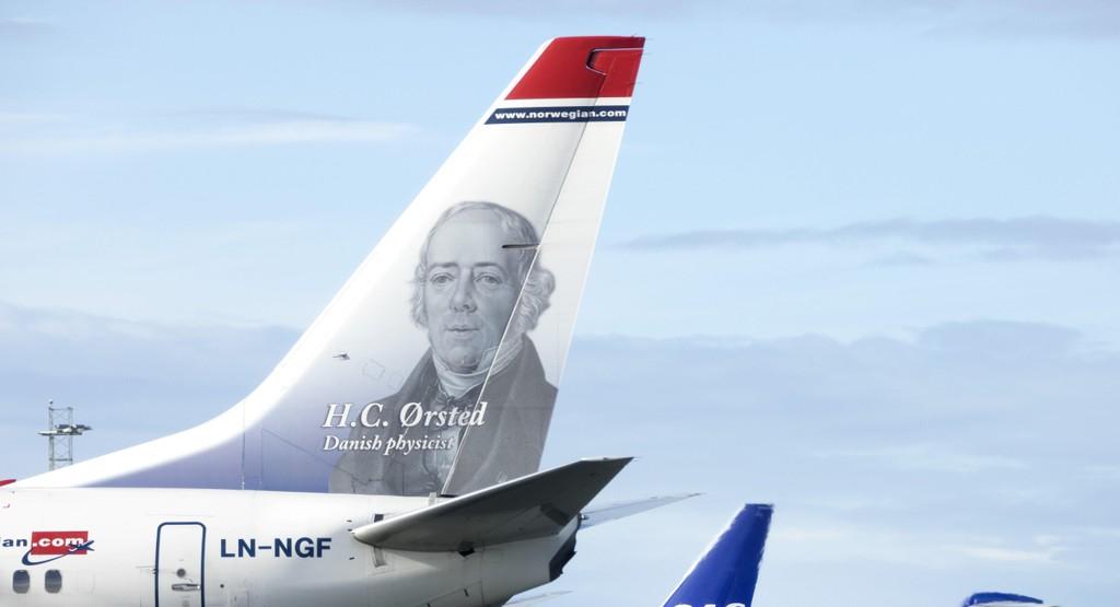 LANDET I DANMARK: Norwegian-flyet på vei til Tyskland måtte nødlande i Danmark på vei fra Norge. Illustrasjonsfoto.