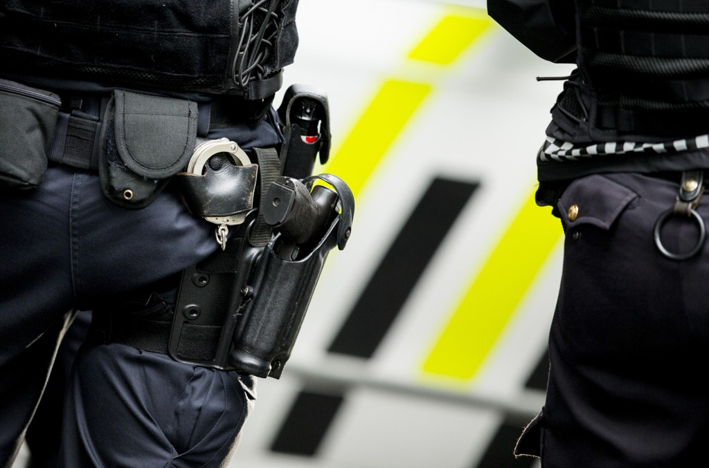 Politiet bekrefter at det ble trukket våpen under en aksjon i Alta søndag. Illustrasjonsfoto.