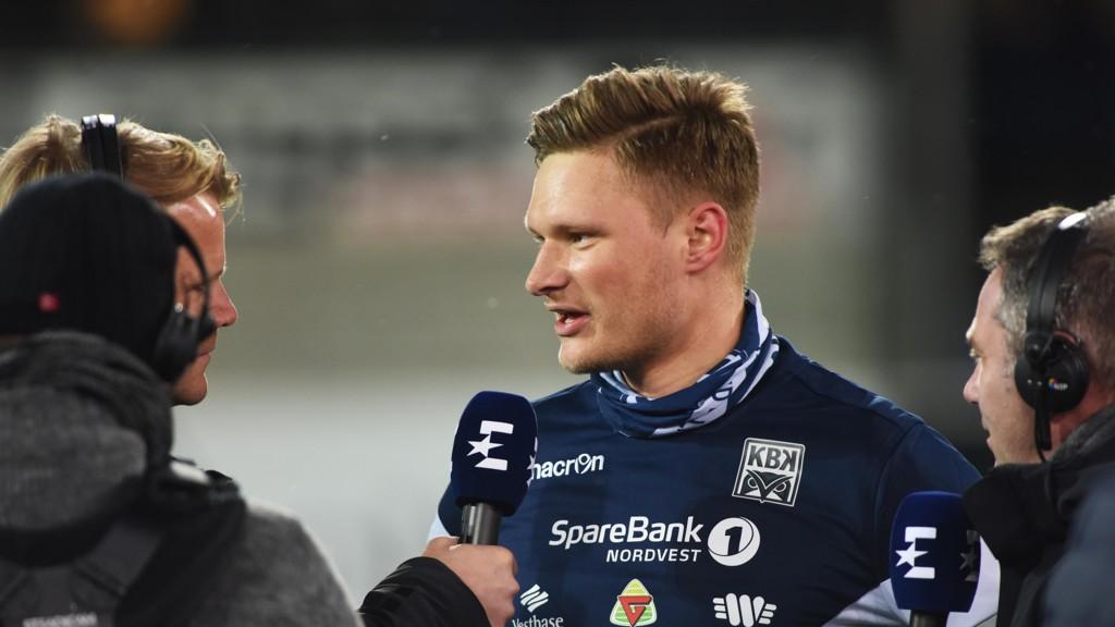USIKKERT KORT: Benjamin Stokke kan komme til å gå glipp av kampen mot Rosenborg lørdag.