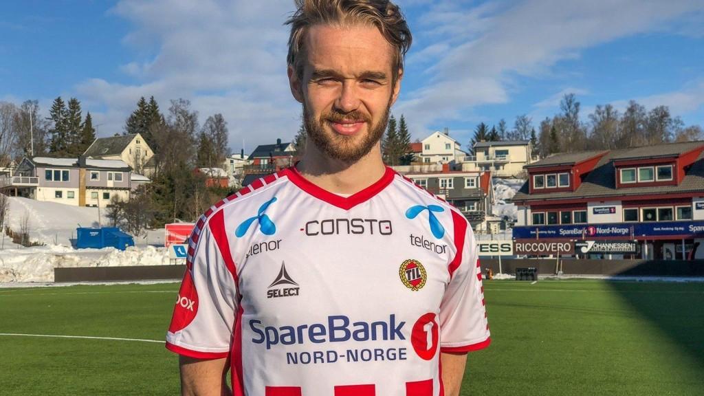TIL TIL: Daniel Berntsen har signert for Tromsø IL.